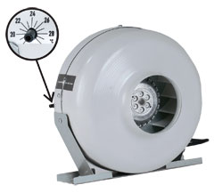 RSW 6HO Thermo/Controllerd 240V 413 CFM 3250 RPM
