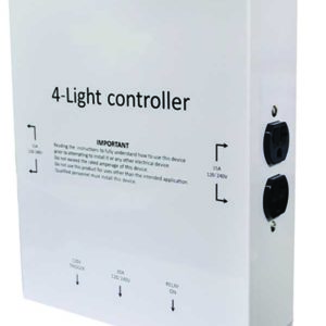 Light Controller / 4 Outlets With Trigger Cord