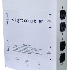 Light Controller / 8 Outlets With Trigger Cord