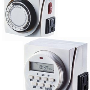 Dual Outlet Timers