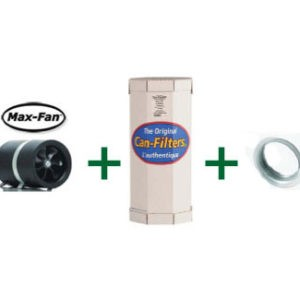 """COMBO Max 10 w/Can 100 & 10"""" Flange, 1,023 CFM"""